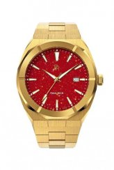 Men's Paul Rich gold watch with steel strap Star Dust - Red Gold Automatic Limited Edition 0 - 500 pcs 45MM