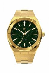 Reloj dorado para hombre Paul Rich con correa de acero Star Dust - Gold Pillars Of Creation