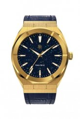 Reloj Paul Rich dorado para hombre Star Dust - Leather Gold