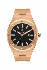 Men's Paul Rich gold watch with steel strap Ambassador's Rose - Steel