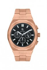 Montre homme Paul Rich en or rose avec bracelet en acier Motorsport - Rose Gold Steel